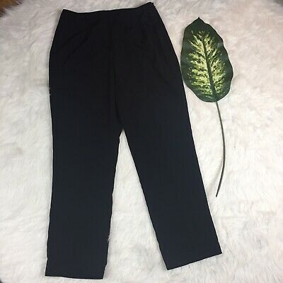 - Newport News Easy Style Black Trousers Women's Sz 12P Dress Pants Career Work