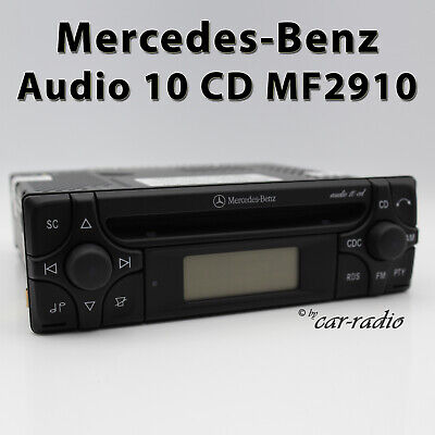 Mercedes Original CD Autoradio W202 W201 W168 W140 W126 W124 Alpine Becker Radio