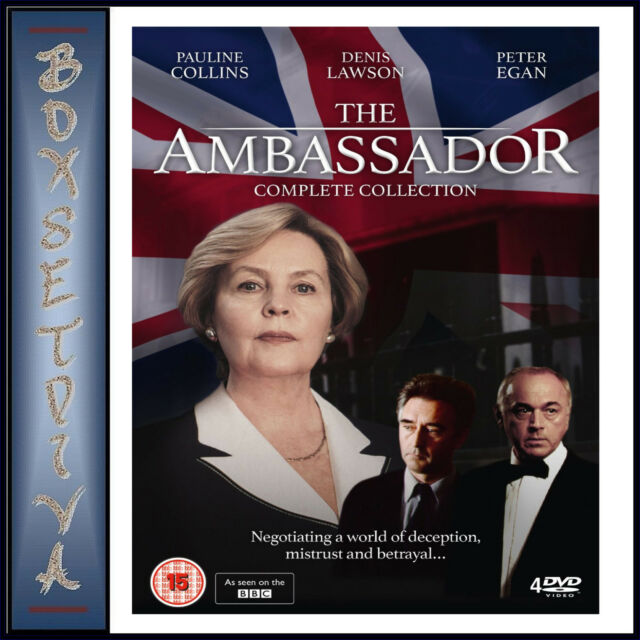 THE AMBASSADOR - THE COMPLETE COLLECTION *BRAND NEW DVD BOXSET**