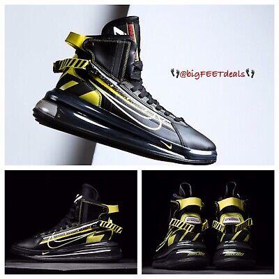 "Sz 14 Nike Air Max 720 Saturn ""All Star"" QS Black 95 97 270 NBA Jordan (Air Max Jordans)"
