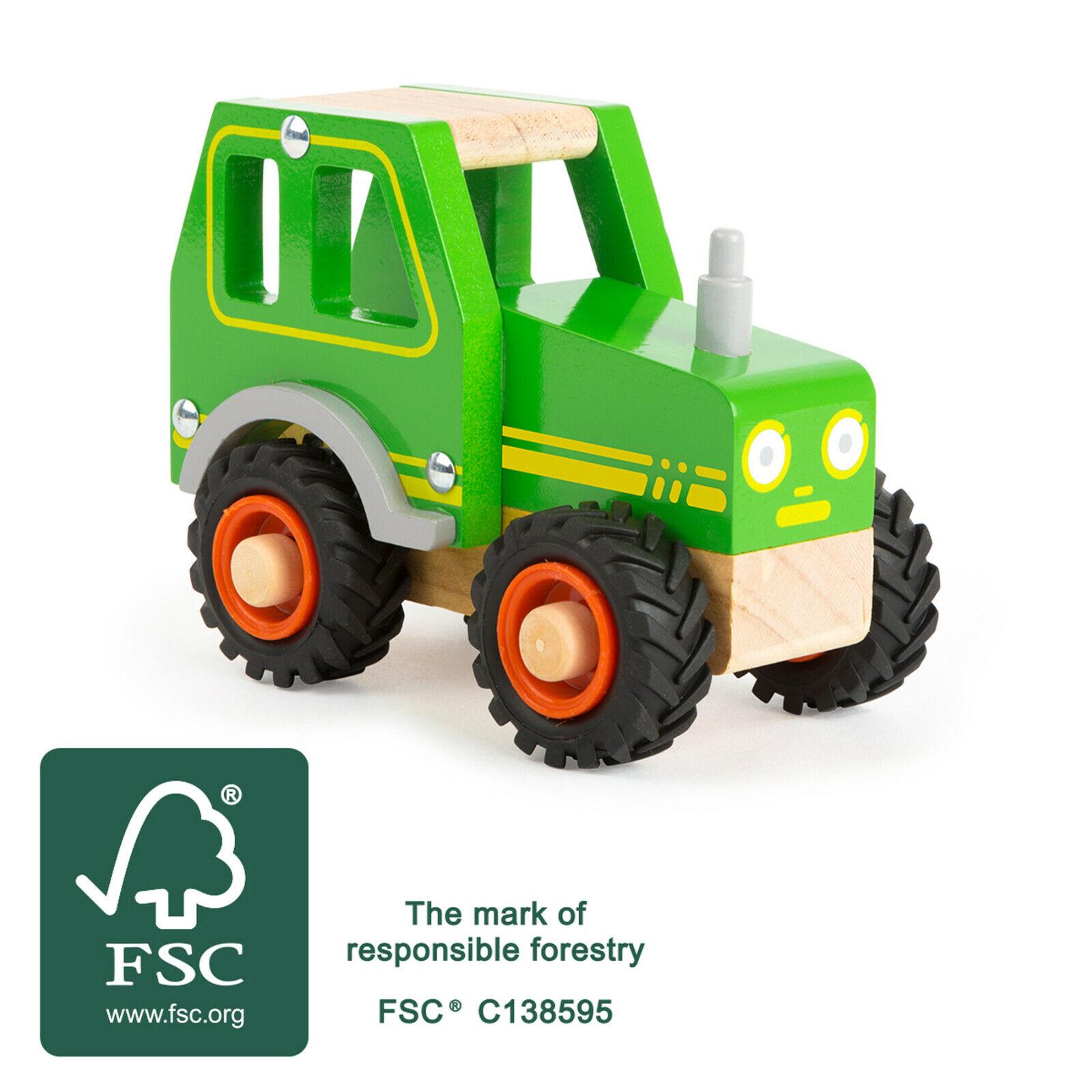 small foot  Kindertraktor aus Holz, Holztraktor, Trecker,Holzspielzeug