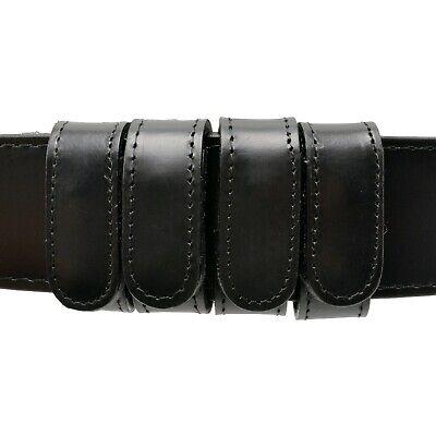 Boston Leather 6503-1-44 Black Plain Explorer Wide Tactical Duty Belt
