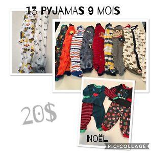 Vêtements bébé garçon 6-9 mois et 9-12 mois