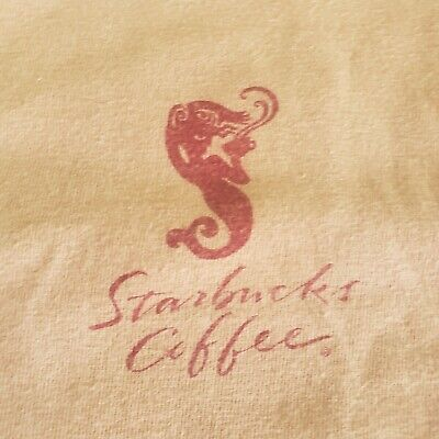 Vintage Starbucks 90's 2000's Mermaid Logo XL Shirt Coffee Mug Rare Seattle