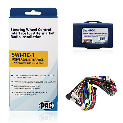 PAC SWI-RC-1 Steering Wheel Control Interface w/Dip Switch for Nissan & Infiniti