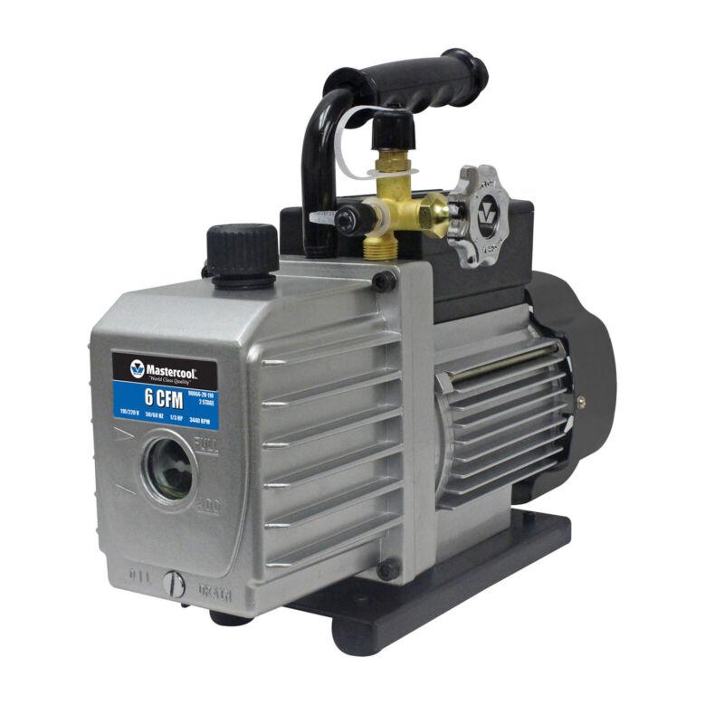 Mastercool 90066-2V-110 Vacuum Pump Two Stage 6 CFM