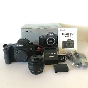 Canon EOS 5D Mark III & 50mm Lens - Excellent Condition