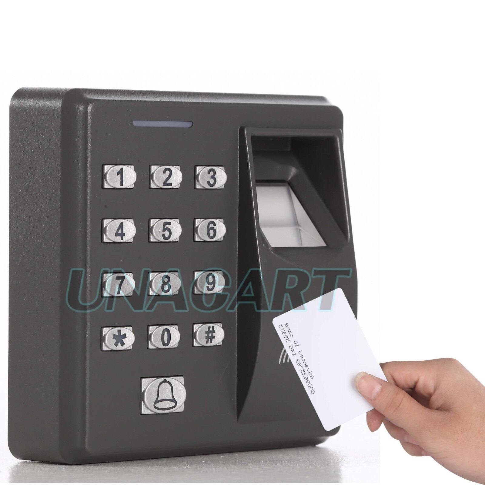 Fingerprint Amp Rfid Id Card Reader Access Control System