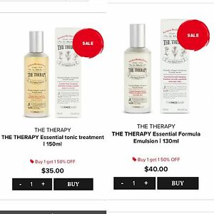 "The Face Shop ""The Therapy"" Toner & Moisturizer"