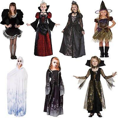 Mädchen Kostüm Hexe Geist Engel Königin der Toten - Engel Kostüm Mädchen