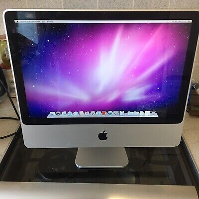 Apple iMac 20 inch 2.66 Ghz Intel core 2 Duo / 1TB Hard drive