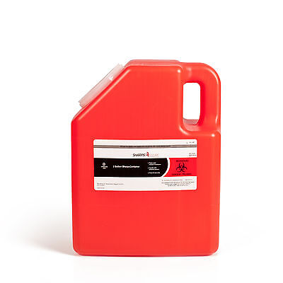 2-gallon Sharps Container Case Of 8. Sharps Disposal Boxes.