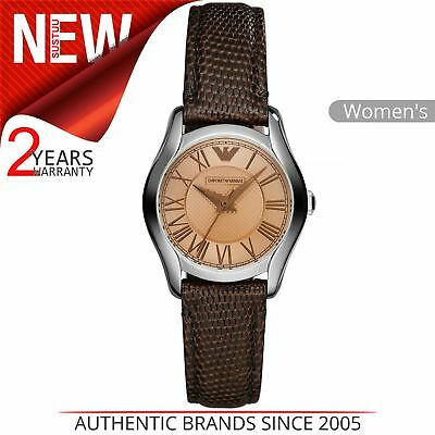 Dial Lizard Strap - Emporio Armani Classic Ladies Watch│Champagne Dial│Lizard Leather Strap│AR1713