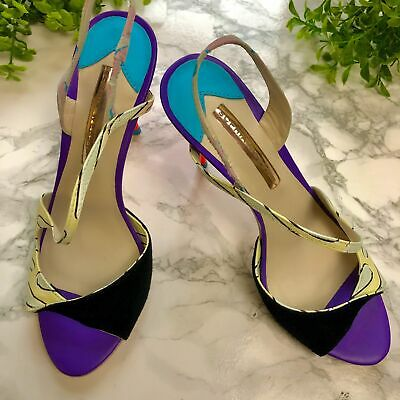 Sophia Webster Summer Colourful High Heels - RRP: £250