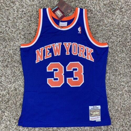 Mitchell & Ness Patrick Ewing New York Knicks Sz Large Mens