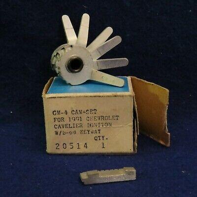 Curtis Model 15 Key Code Cutter Clipper Gm-4 Cam Gm-4a Carriage 6 Cut Orig Box