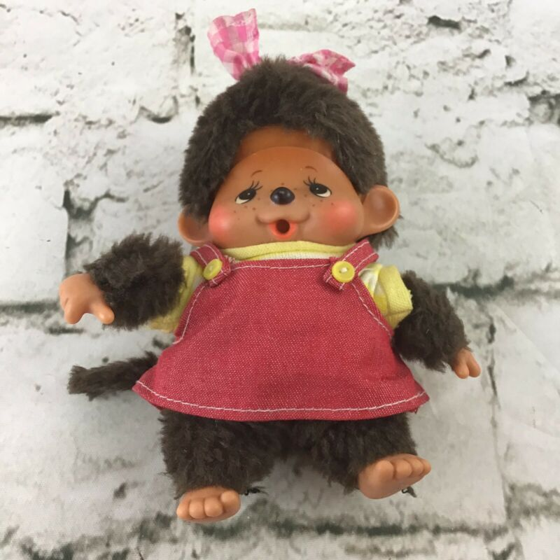 Vintage Monchhichi Sekiguchi 1974 Little Monkey Collectible Toy By Hasbro Flaw