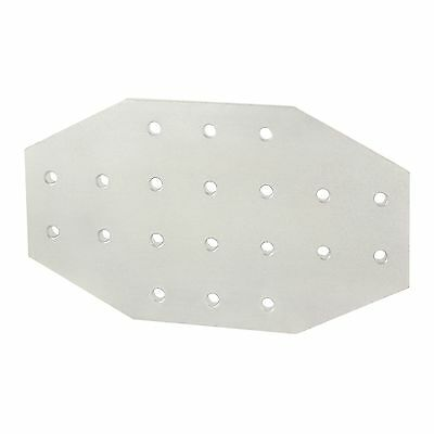 8020 Inc T-slot Aluminum 20 Hole Cross Flat Plate 15 Series 4423 N