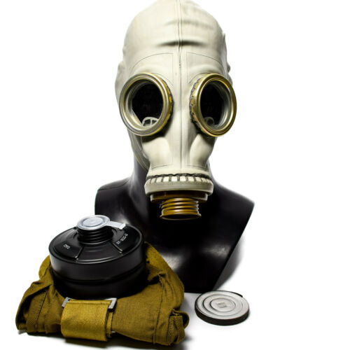 Genuine Russian gas mask GP-5 Surplus USSR respiratory NATO Modern Filter MEDIUM