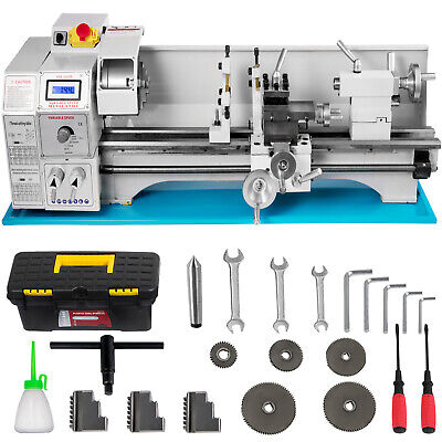 Metal Lathe Mini Lathe 8.7x23.6 1.1kw For Counter Face Turning Driling