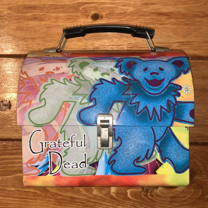 Grateful Dead Collectible Bear Lunch Box By Vandor