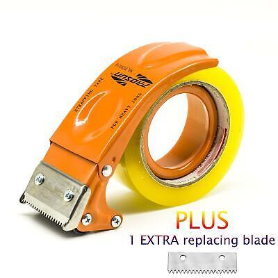 Prosun Metal Handheld 2 Inch Tape Gun Dispenser Packing Packaging Sealing Cutter