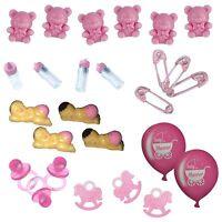 Baby Shower Table Decorations / Favours - Pink / Girl - Choose Item - unique - ebay.co.uk