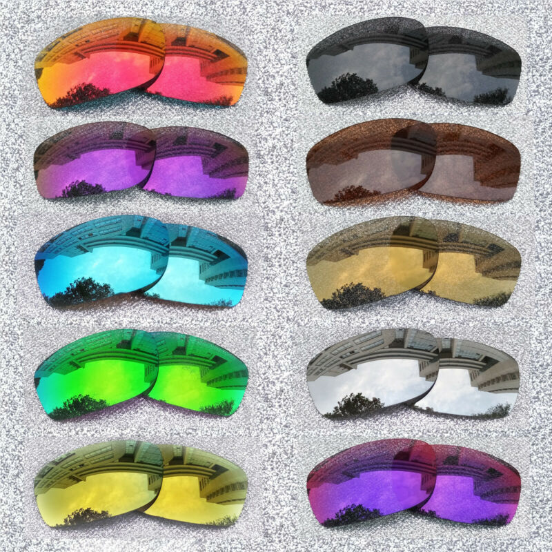 ExpressReplacement Polarized Lenses For-Oakley Fives Squared Sunglasses