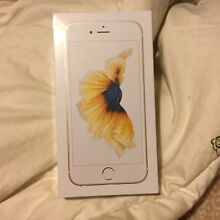 Brandnew sealed iphone 6s gold 64gb Petersham Marrickville Area Preview