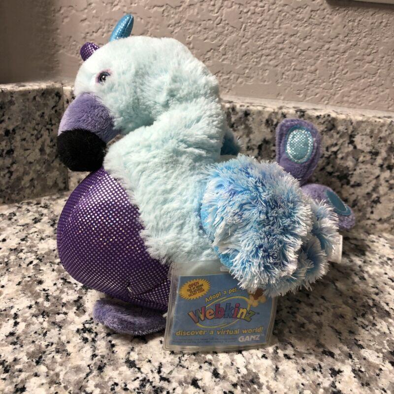 Webkinz Blufadoodle Sealed Code Ganz ~ Blue Purple Plush Stuffed Animal 🚚💨