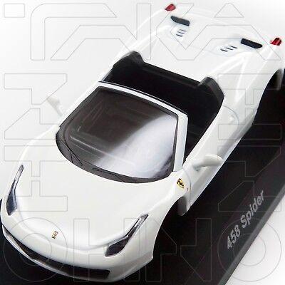 FERRARI 458 SPIDER MINICAR COLLECTION 9 NEO KYOSHO 1:64 WHITE post f430 pre 488 for sale  Shipping to Canada