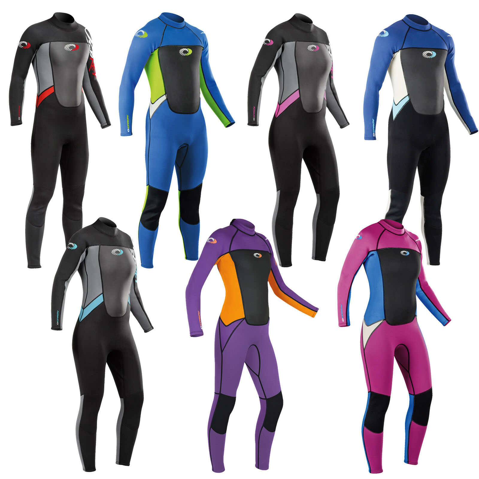 f6ed9dae5d3b Details about Osprey Boys Girls Origin Full Length 3/2mm Wetsuit Junior  Long Kids Childs Surf