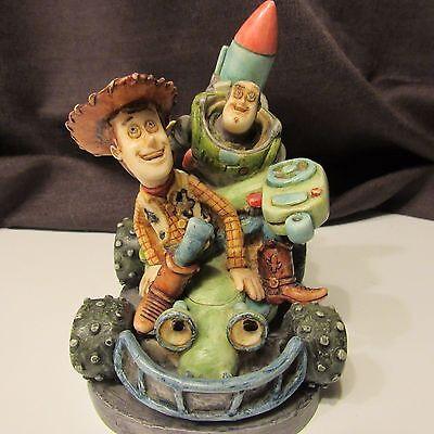 Harmony Kingdom Walt Disney Pixar Toy Story Woody and Buzz Rare Lim Ed 500