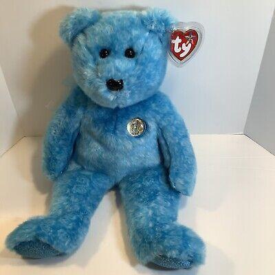 TY Beanie Buddy - CLASSY the Bear (13 inch) - MWMTs, New
