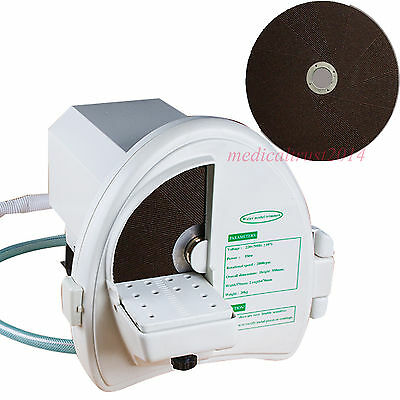 Dental Lab Wet Model Shaping Trimmer Abrasive Silicon Disc Wheel 550w Machine