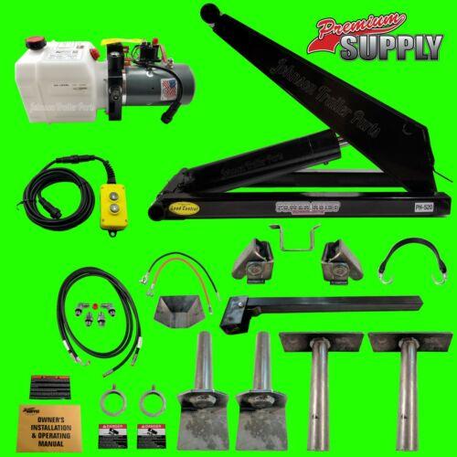 10 Ton Dump Trailer Hydraulic Scissor Hoist Kit - PH520 Dump Bed Scissor Hoist