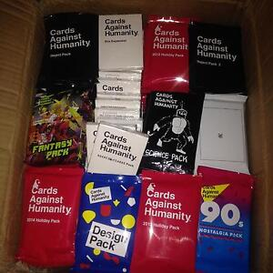 CARDS AGAINST HUMANITY 12x Booster pack set Preston Darebin Area Preview