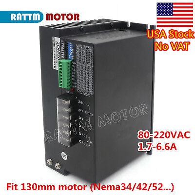 Us3dm2080 Nema34 Nema42 Nema52 3phase Stepper Motor Driver 32bit Dsp Ac80-220v