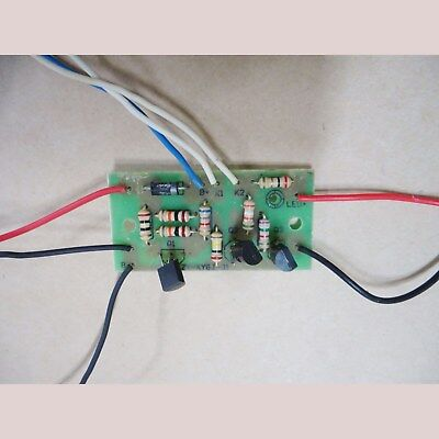 3.6V solar light PCB board auto on and off by sunrise and sunset