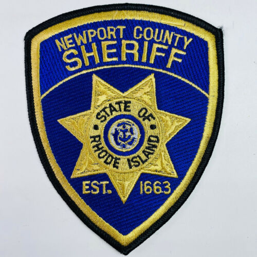Newport County Sheriff Rhode Island RI Patch (A2)