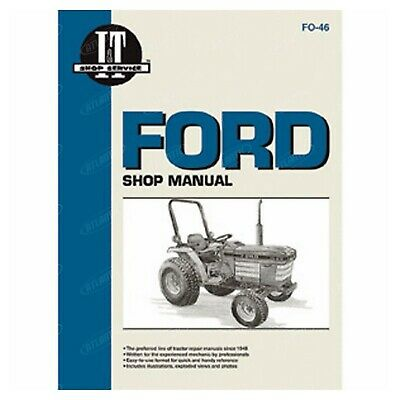 Service Manual Ford New Holland 1120 1220 1320 1520 1720 1920 Compact Tractor