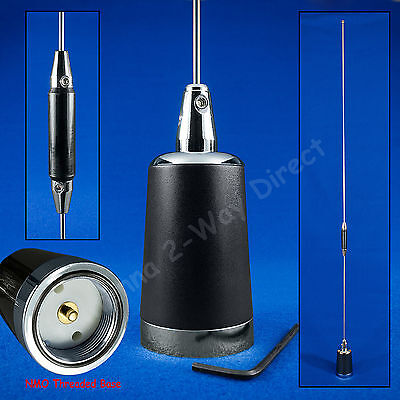 DUAL BAND 2 METER 144 / 440 MHz 5/8 WAVE NMO MOBILE ANTENNA AMATEUR BANDS Dual Band Mobile Antenna
