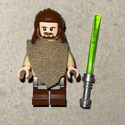 Lego Star Wars Qui-Gon Jinn Poncho Printed Legs SW0651 75096 NEW