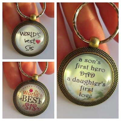 Key ring Best sisters Father/Mother&Daughter Christmas Gift stocking