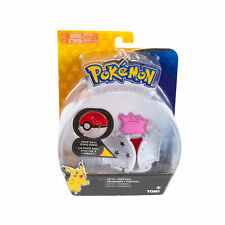 Pokemon Clip N Go Set Evoli /& Pokeball Wave 5 Eevee Pokémon Spielzeug