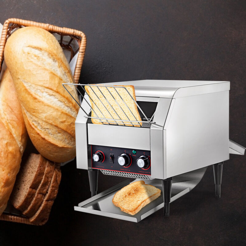 Commercial Conveyor Toaster Restaurant Equipment Bread Bagel Food