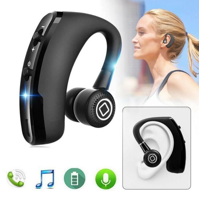 Ear Hook Bluetooth Earphone Stereo Bass Headphone Wireless S