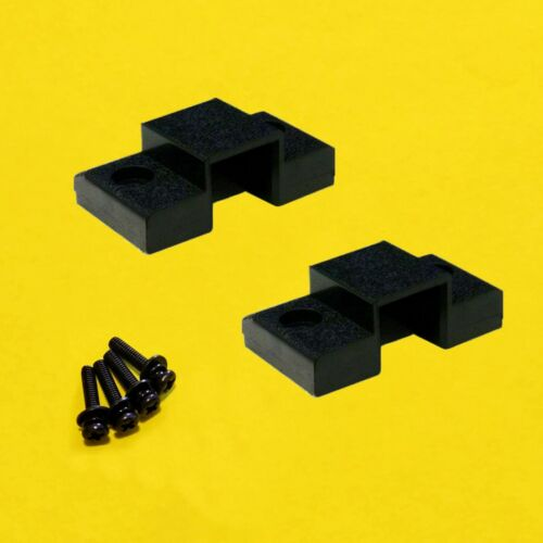 Technics SL1200/SL1210 Hinge MOUNT CABINET Pair SFUMM02N04 with SCREWS & WASHERS