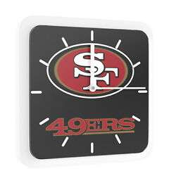 3 in 1 NFL San Francisco 49ers Home Office Decor Wall Desk Magnet Clock 6 inches