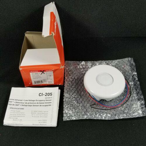 Wattstopper CI-205-1 Occupancy Sensor Passive Infrared Sensor +24 VDC 360 View